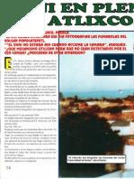 Ovni en Pleno Dia en Atlixco, Pue. R-080 Nº017 - Reporte Ovni