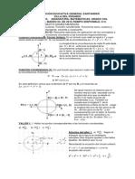 Función coordenada. funciones trigonométricas