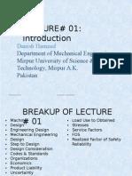 Lec 1 Machine Design