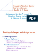 Routing Survey