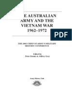 2002 Chief of Army Conf - Vietnam War