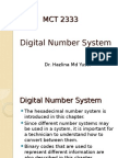 Number Systems Lecture 2
