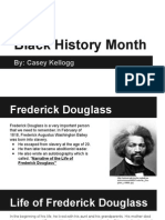black history month casey kellogg