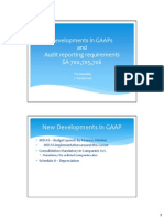 Gaap and Audit