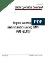 Jade Helm Martial Law WW3 Prep Document 1