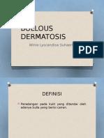 Bula Dermatosis