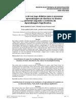 Castro e Costa, 2011_Contribuições de Um Jogo Didático Para o Processo de Ensino e Aprendizagem de Química