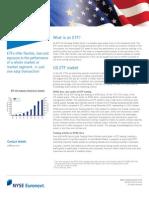 Euronext ETF brochure 2015