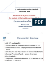 Employee Benefits as 15