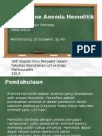 AutoImune Anemia Hemolitik Majuuuu