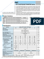 Hamamatsu Data Sheet PMT Packages