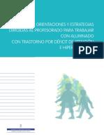 2014 Pub Apoyo Orienta Guia TDAH Profesorado