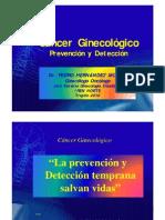 Cáncer Ginecológico PREVENCIÓN IREN NORTE Mar29-2010 [Modo de Compatibilidad]