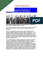 A Escola de Bauhaus