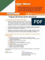 Program de Formare Pentru Absolventi