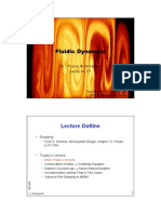 Oscillating Couette Flow  Fluid Dynamics Handouts