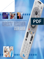 Directv Receiver User Guide