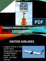 Service Marketing Presentation - Untied Breaks Guitars