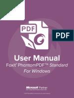 Foxit Phantom PDF Standard70 Manual