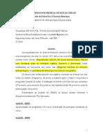 Teoria Antropoloıgica Claıssica 2015 v3 Com Seminırios