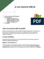 Windows Crear Una Memoria Usb de Instalacion 10202 Ngpf78