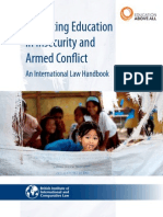 Right to Education in Conflict