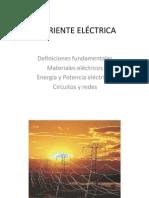 V- CORRIENTE ELÉCTRICA