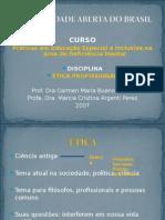 Disciplina 04 - ETICA PROFISSIONAL.pps