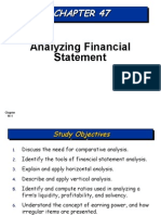 20140325080335CHAPTER 47-FINANCIAL STATEMENT ANALYSIS.ppt