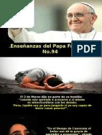 Enseñanzas Del Papa Francisco - Nº 94