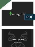 MongoDB 3.0 - Overview