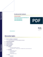3. Ratio Analysis Basics