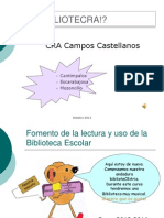 Biblioteca del mes. Octubre 2013.