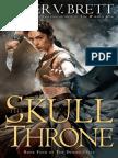 The Skull Throne by Peter V. Brett, 50 Pg Fri
