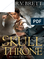 The Skull Throne by Peter V. Brett, 50 Pg Fri
