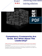 Competency Frameworks Are Great