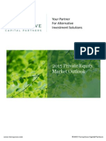 2015 Private Equity Market Outlook from TorreyCove Capital Partners