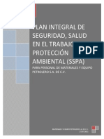 Plan Integral de Seguridad ANEXO S