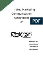 Reebok- An Advertising Assignment