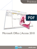 Prácticas de Microsoft Office Access 2010