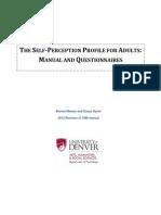 Self-Perception Profile for Adults (1)
