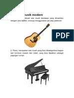Mengenal Alat Musik Modern2