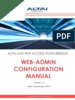 -Admin Configuration Manual -