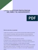 Tema1 características psicológicas del niño y adolescente