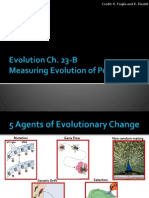 evolution ch 23b measuring evolution of populations
