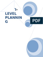 MULTI LEVEL PLANNING.doc