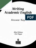 Writing Academic English 4th Ed_ Answer Key
