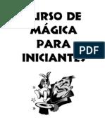 Curso Iniciante De Mágica