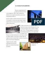 El Acueducto de Querétaro y Biografia Amado Nervo