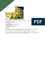 Esparguete Alho e Azeite